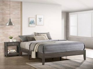 The Skyler King Platform Bed Frame will make a great addition to your bedroom. It features tapered legs and comes in a grey finish. Prices range from $149.99 to  $229.99 and come in all sizes! 📐✅ • • • #SupportSmallBusiness #ShopLocal #Vista #Escondido #SanMarcos #Carlsbad #Fallbrook #ValleyCenter #SanElijo #Oceanside #Poway #Encinitas #MiraMesa #SolanaBeach #DelMar #Temecula #ChulaVista #NationalCity #VistaCA #EscondidoCA #OrangeCounty #RiversideCounty #SanDiegoCounty #SanDiegoLife #SanDiego #SDViews #NorthCounty #SouthernCalifornia