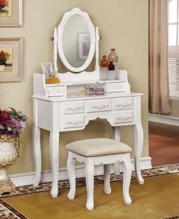Are you looking for a vanity that adds more style in your home or office? Then this is what you are looking for! 🔮 A nice vertical mirror with titling, a large central dresser and a padded stool seat, this is everything you need to get yourself done up in the morning! 🎀 Available for you at the sales price of $329.99! ✅ • • • #SupportSmallBusiness #ShopLocal #Vista #Escondido #SanMarcos #Carlsbad #Fallbrook #ValleyCenter #SanElijo #Oceanside #Poway #Encinitas #MiraMesa #SolanaBeach #DelMar #Temecula #ChulaVista #NationalCity #VistaCA #EscondidoCA #OrangeCounty #RiversideCounty #SanDiegoCounty #SanDiegoLife #SanDiego #SDViews #NorthCounty #SouthernCalifornia